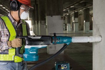 The Makita HR5212C AVT Rotary Demolition Hammer Packs a Punch