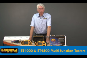 Watch: Martindale ET4000 & ET4500 Multifunction 17th Edition Installation Testers