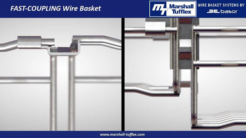 Watch: Marshall-Tufflex Wire Basket System