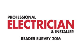 Professional Electrician Survey 2016