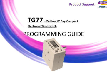Watch: Timeguard TG77 Electronic Timeswitch