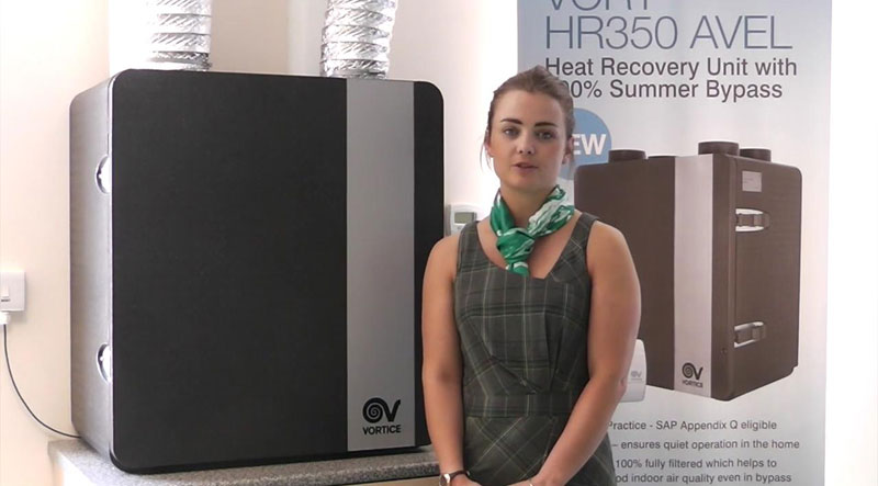 Watch: Vortice Heat Recovery Units