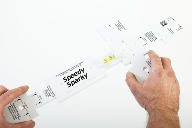 Electrician Invents Socket Spacing Tool