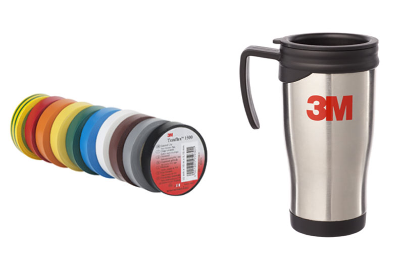 WIN: 3M Temflex Tape & Thermal Mug