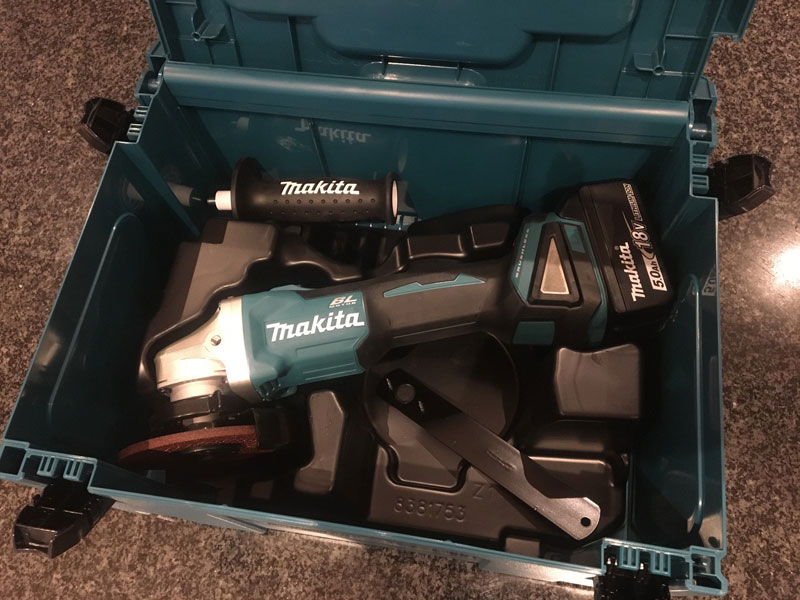 TESTED: Makita 18V Brushless Grinder