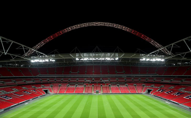 Watch: Thorn Lighting Wembley Stadium