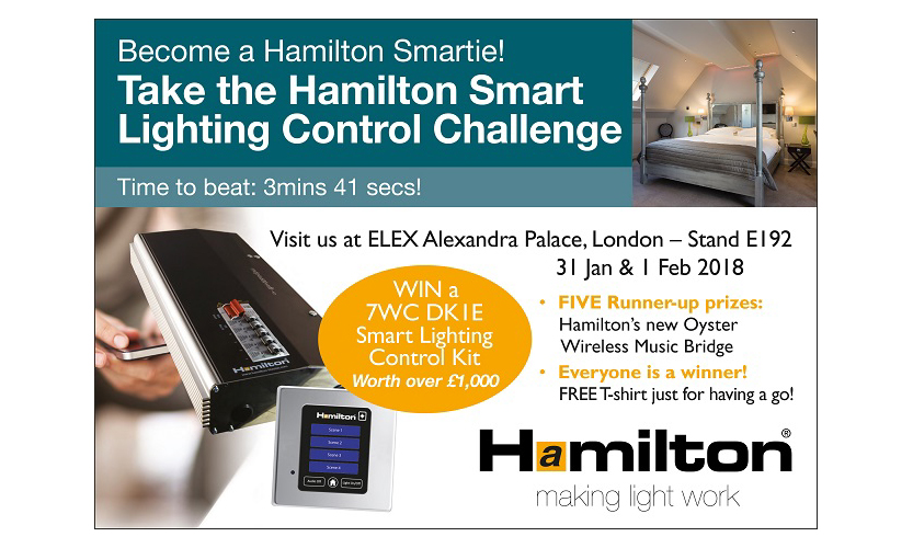 Get Smart at ELEX and Win £1,000