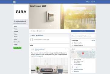 Gira Launches NEW Dedicated Facebook Page
