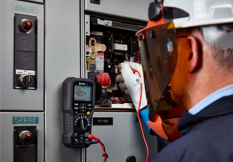 FLIR Announces FLIR DM91 Industrial True-RMS Multimeter