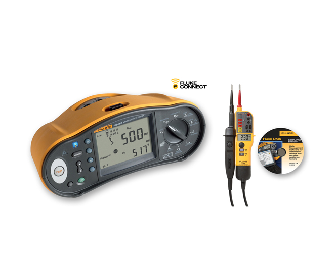 Fluke 1660 Series Multifunction Installation Tester Kit money-saving offers