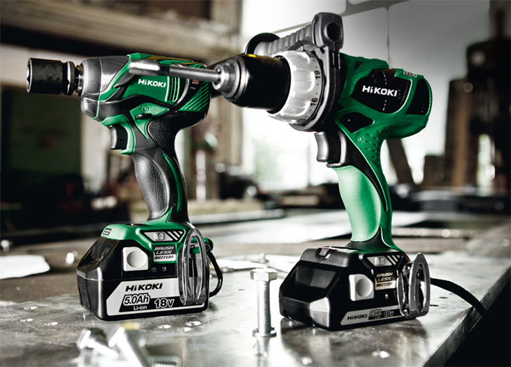 Hitachi Power Tools is Feeling 'Brand' New