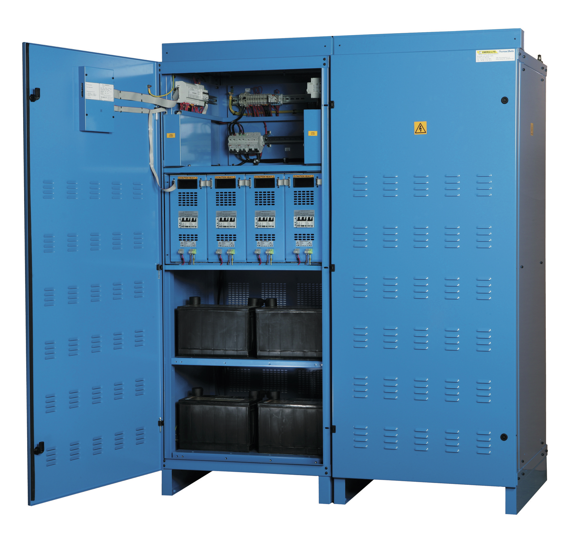 Better Safe than Sorry - Central Power Supply Equipment for