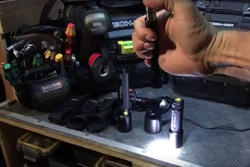 Watch: LED LENSER Industrial Torch Range Reviewed