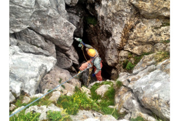Hitachi Power Tools Still Going Strong with Caving Exploration Team