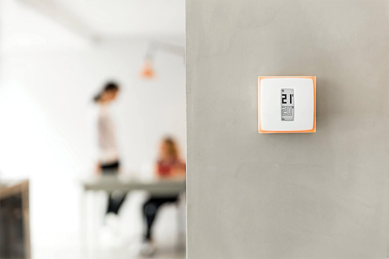 product test netatmo smart thermostat professional electrician. Black Bedroom Furniture Sets. Home Design Ideas