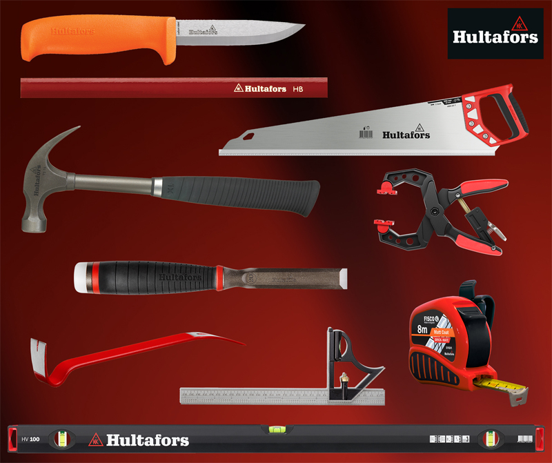WIN: 3 Complete Sets of Hultafors Hand Tools to be Won!