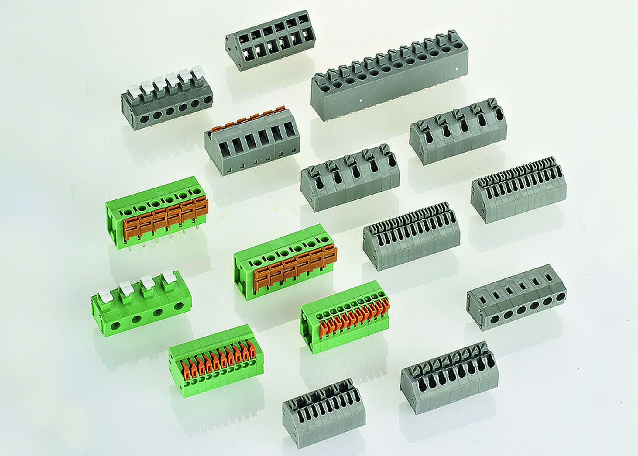 Hylec Launches New TLM Series Screwless Push Wire PCB Terminal Blocks