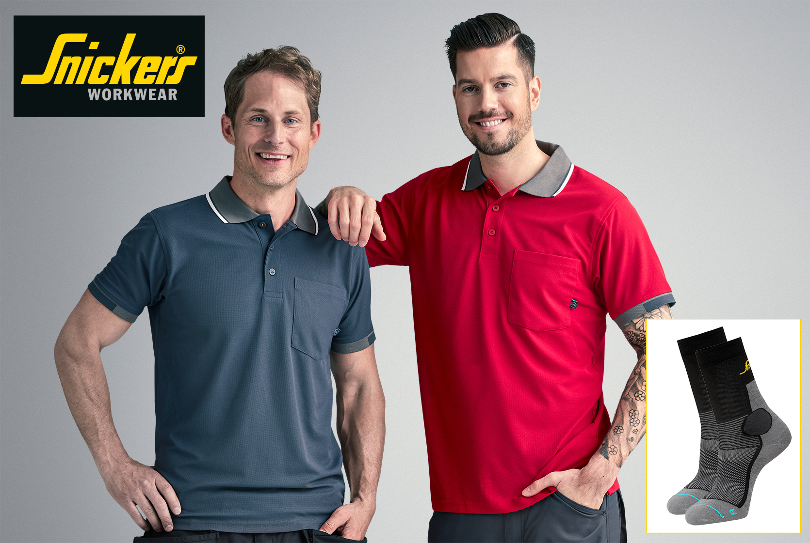 WIN: Snickers Polo Shirt & Socks Sets – 5 to Win!