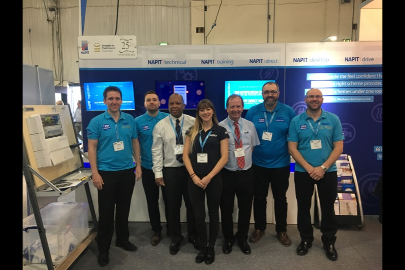 Napit to Exhibit at ELEX Show Coventry