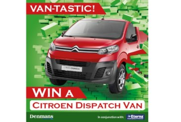 Win a Brand New Van – Worth Up To £15,000