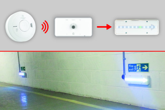 Aico Alarm Interface used in High Risk Fire Safety Systems