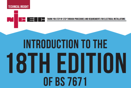 Introduction To The 18th Edition Of BS 7671