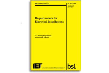 IET Warns of the Dangers of Fake Wiring Publications