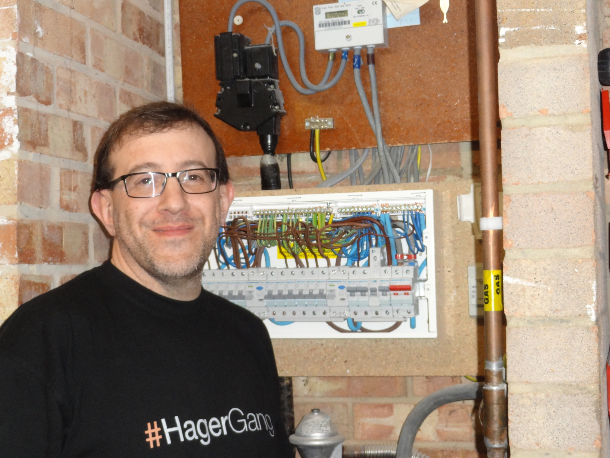 Hager Meets Electrician's Demands