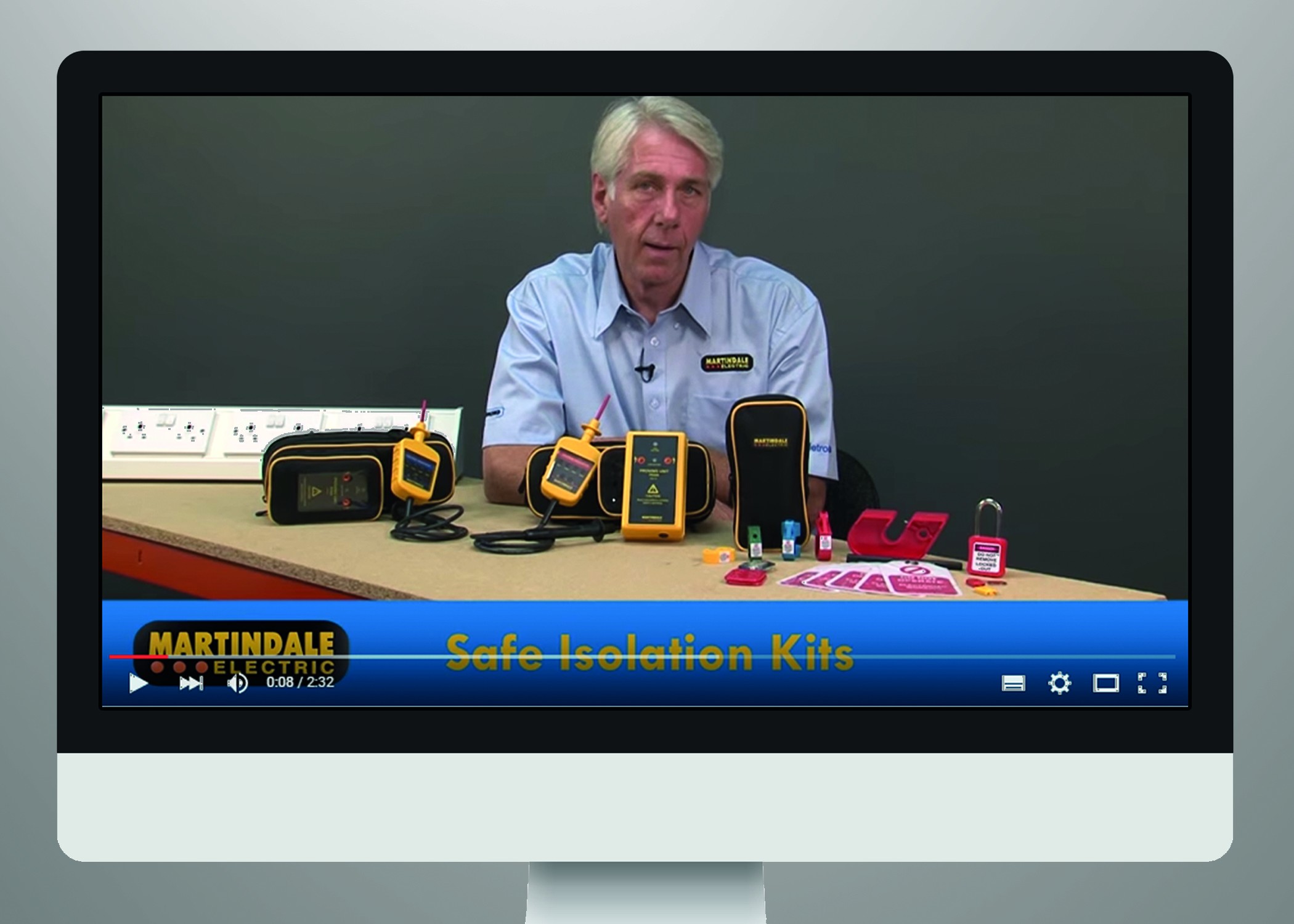 Watch: Martindale EZ2500 Non-Trip Earth Loop Tester