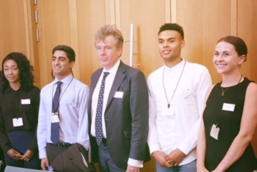 ECA Apprentices in Parliament