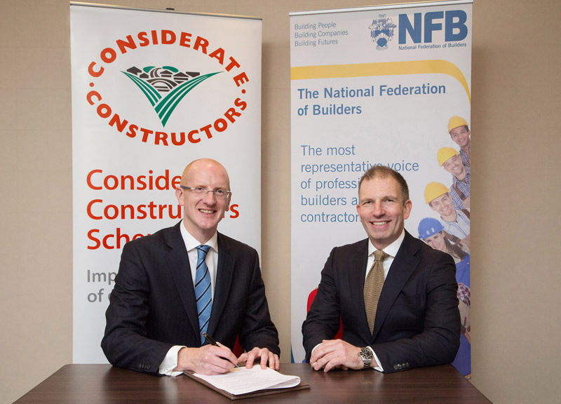 Considerate Constructors Scheme and NFB Team Up
