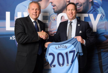 Eaton Teams up With Manchester City