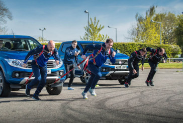 Watch: Famous Fullbacks Compete in Fiat Fullback Challenge