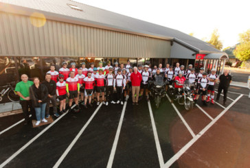 Aico Bike Ride Raises Over £19,000