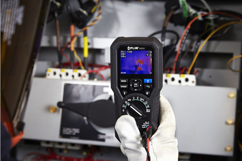 Product Test: Flir DM284 Thermal Imaging Multimeter