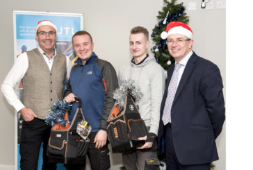Christmas Came Early for JTL's Apprenticeship Students