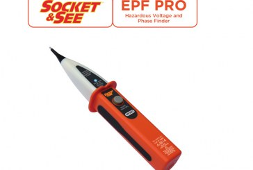 WIN: One Socket and See EPF Pro Hazardous Voltage & Phase Finder