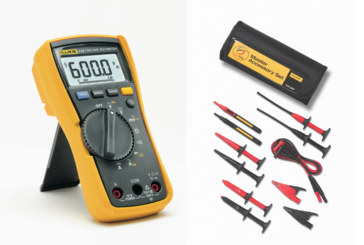 Fluke Offers a DMM Safety Bundle