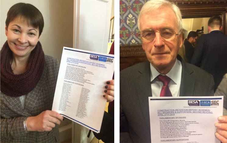 Over 100 MPs Support Ring Fencing of Retentions with Parliamentary Bill