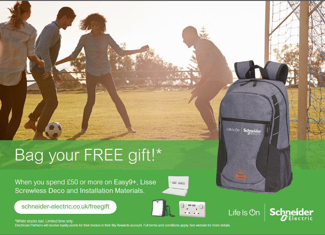Bag Yourself a Free Gift with Schneider