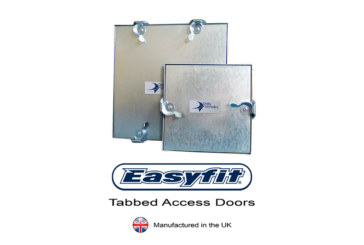 EasyFit Tabbed Access Doors Now Manufactured in the UK