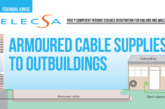 Armoured Cable Supplies to Outbuildings