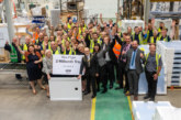 Mira Showers produces its two millionth Mira Flight Shower Tray