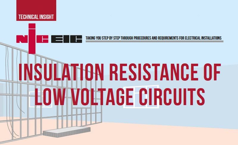 Insulation Resistance of Low Voltage Circuits