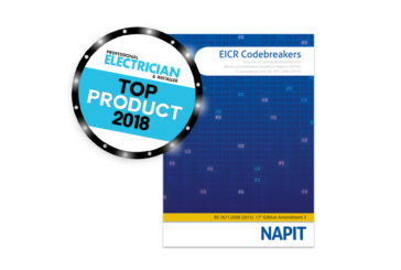 Top Products 2018: NAPIT EICR Codebreakers