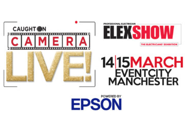 Caught on Camera Live! at ELEX Manchester