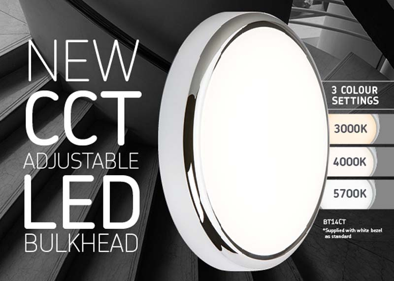New long life LED Bulkheads from Knightsbridge