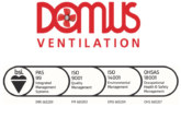 Domus Ventilation Achieves Full System Management Certification
