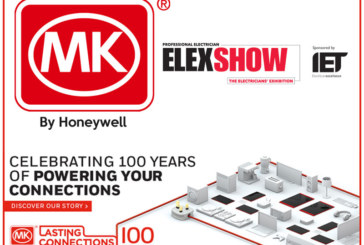 MK Electric celebrates centenary at ELEX