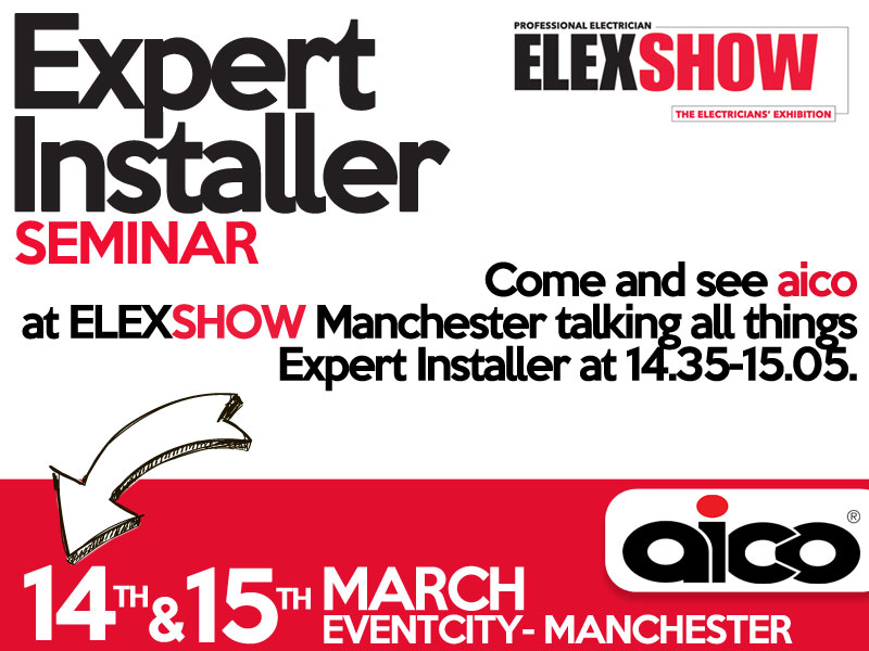 Expert Installer Seminar from Aico at ELEX